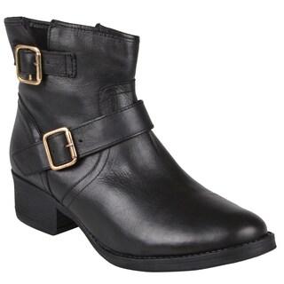 Steve Madden Women's 'Tiarraa' Buckle Detail Short Boots