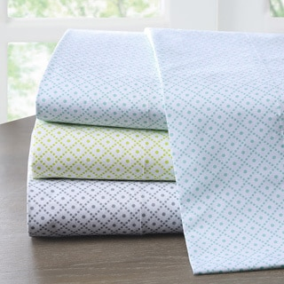Intelligent Design Diamond Cotton 200 Thread Count Sheet Set