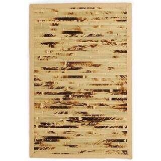 Esto Natural Camo Bamboo Rug (4' x 6')