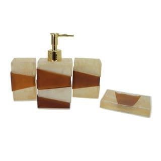 Split Love Bath Accessory 4-piece Set