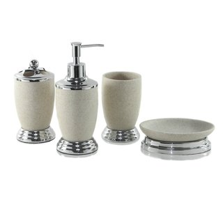 Gravel Knight Bath Accessories 4-piece Set
