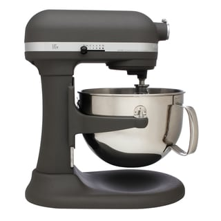 KitchenAid RKP26M1XGR Imperial Gray Pro 600 6-quart Bowl-Lift Stand Mixer (Refurbished)