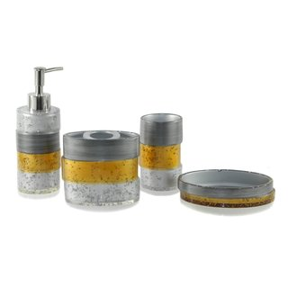 Staggered Space 4-piece Bath Accessories Set