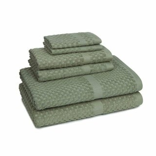 Mary Jane's Farm Honeycomb Check 6-piece Towel Set