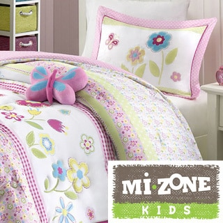 Mi Zone Kids Flower Power 4-piece Comforter Set