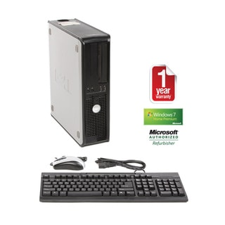 Dell GX620 Pentium D 3.0GHz 2048MB 160GB Win 7 Home Premium Desktop PC (Refurbished)