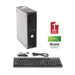 Dell GX620 Pentium D 2.8GHz 2048MB 80GB Win 7 Home Premium Desktop PC (Refurbished)