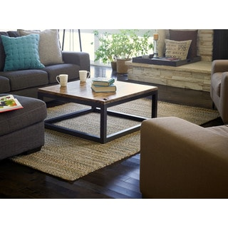 Lani Jute and Chenille Cotton Rug (4' x 6')