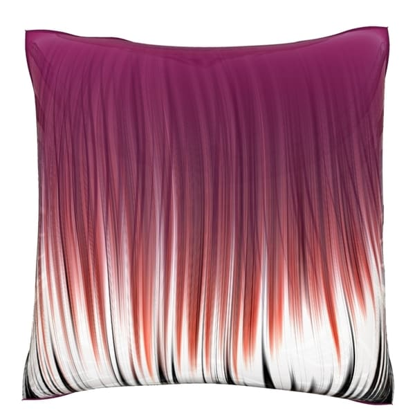 Velour Throw Pillows : Linear Pattern 18-inch Velour Throw Pillow - Overstock Shopping - Great Deals on Throw Pillows