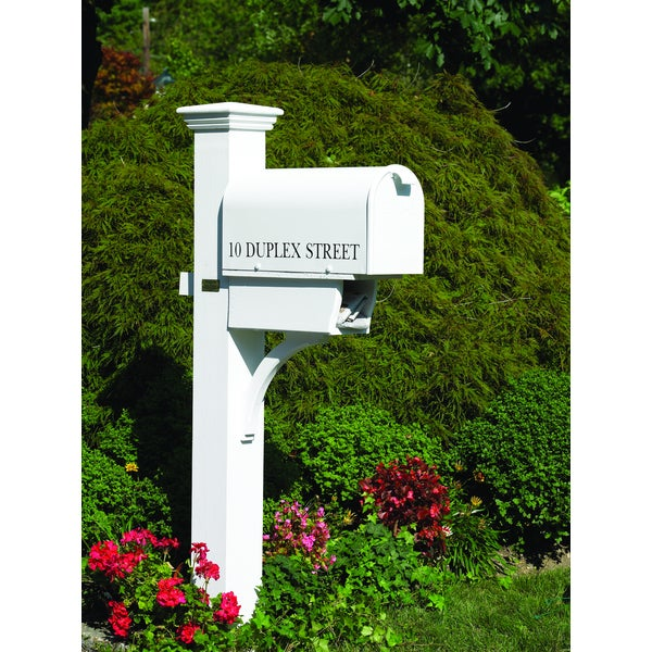 Lazy Hill Farm Designs Duplex Mailbox Post