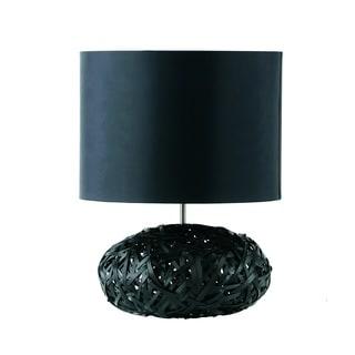 Charlie Modern Black Table Lamp
