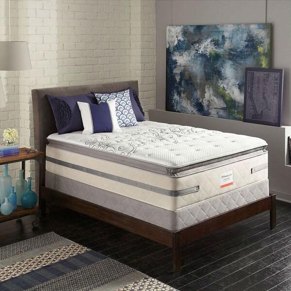 Rewarding Cushion Firm Euro Pillow Top King Size Hybrid Mattress Set
