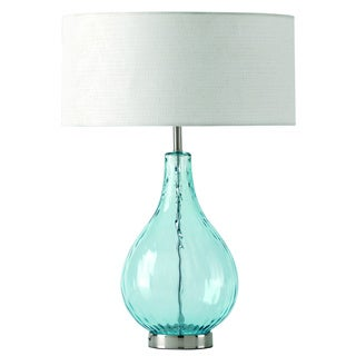 Lucy Aqua Table Lamp