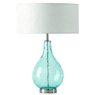 Lucy Aqua Table Lamp