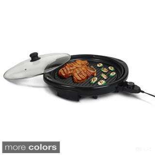 Healthy Living 14-inch Electric Indoor Grill