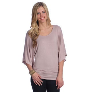 Women's Solid Dolman Top