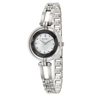 Bulova Women's 'Dress' Stainless Steel Japanese Quartz Watch