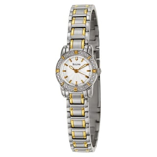 Bulova Women's 'Highbridge' Stainless Steel Japanese Quartz Watch