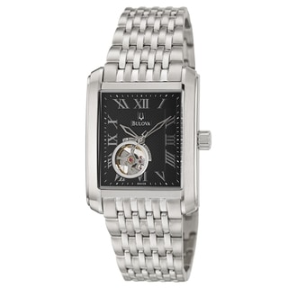 Bulova Men's 'BVA Series' Stainless Steel Mechanical Automatic Watch