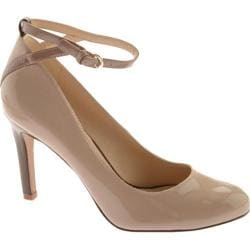 Women's Nine West Getout 3 Taupe Multi Lux Patent Polyurethane