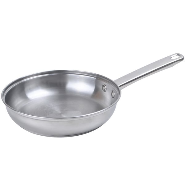 Stainless Steel 12-inch 3-ply Bottom Fry Pan