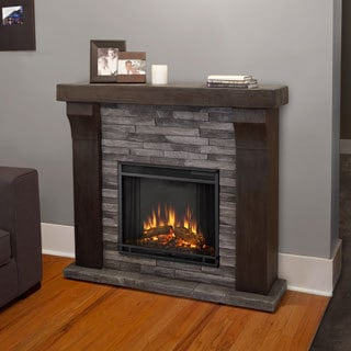 Electric Metal Indoor Fireplaces Overstock Shopping