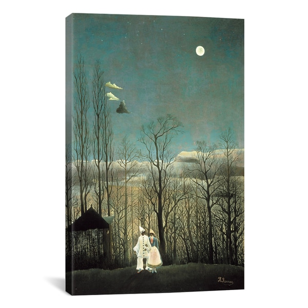 A Carnival Evening by Henri Rousseau Canvas Print Wall Art