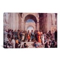 School of Athens By Raphael Canvas Print Wall Art