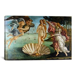The Birth of Venus by Botticelli Sandro Canvas Print Wall Art