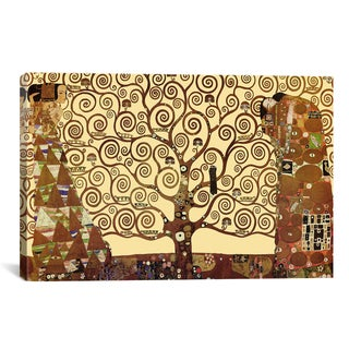 The Tree of Life by Gustav Klimt Canvas Print Wall Art