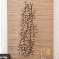 Upton Home Champagne Metal Wall Sculpture