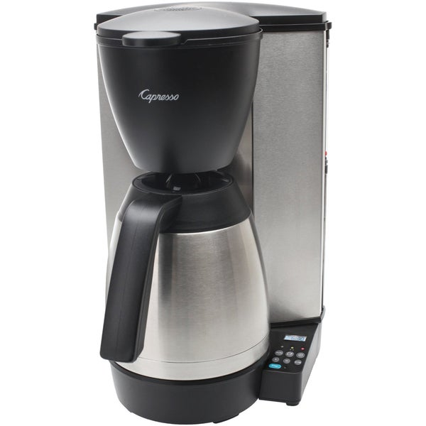 Capresso Jura MT600 PLUS 10 Cup Coffee Maker with Thermal Carafe 12399071