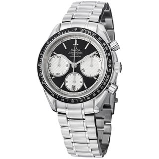 Omega Men's 326.30.40.50.01.002 'Speedmasteracing' Black Dial Stainless Steel Watch