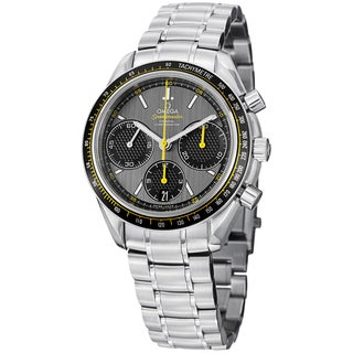Omega Men's 'Speedmasteracing' Grey Dial Stainless Steel Watch