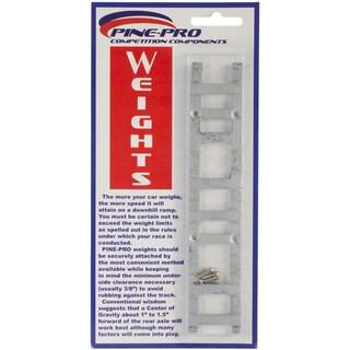Pine Car Derby Weight W/Screws 2oz 1/Pkg-Ladder