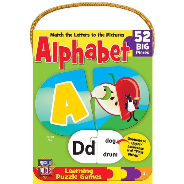 Mini Learning Games 40 Pieces-Alphabet