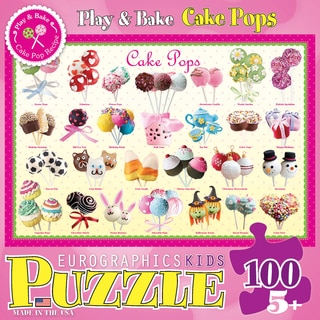 Cake Pops Puzzle 100 Pieces