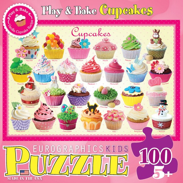 Cupcakes Puzzle 100 Pieces