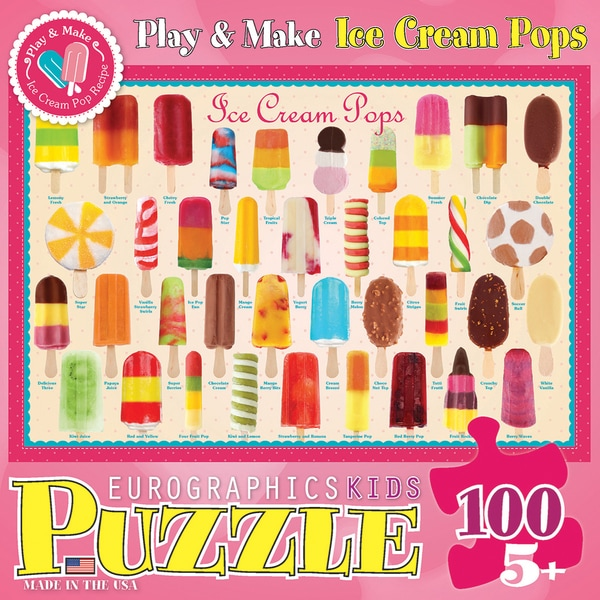 Ice Cream Pops Puzzle 100 Pieces