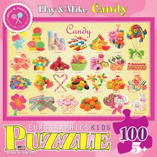 Candy Puzzle 100 Pieces