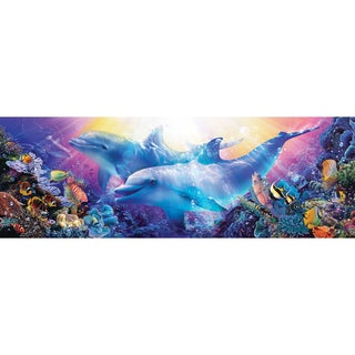 Believe the Dream Puzzle Panoramic 1000 Pieces