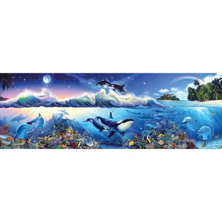 The Blue World Puzzle Panoramic 1000 Pieces