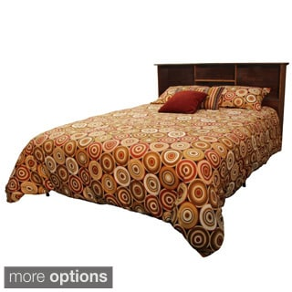 Durabed King-size Steel Foundation and Frame-in-One Mattress Support System Bed Frame with All Wood