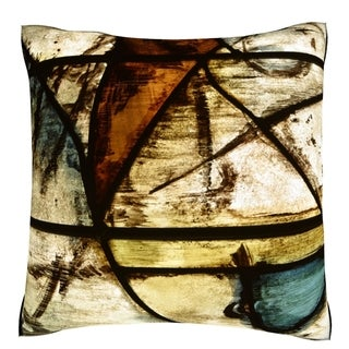 Cathedral Background 18-inch Velour Throw Pillow