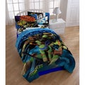 Teenage Mutant Ninja Turtles 'Heroes' 5-piece Twin Comforter Set with Pillow Buddy