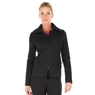 Anatomie Women's 'Bridget' Black Travel Blazer