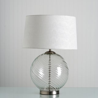 Murano 1-light Steel Finish Table Lamp
