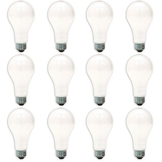 GE '10429' 150-watt A21 Soft White Lightbulbs (Pack of 12)