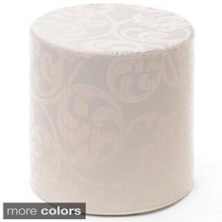 Kyla Cylinder Pouf