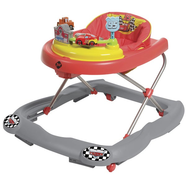 Disney Lightning McQueen Cars Baby Walker